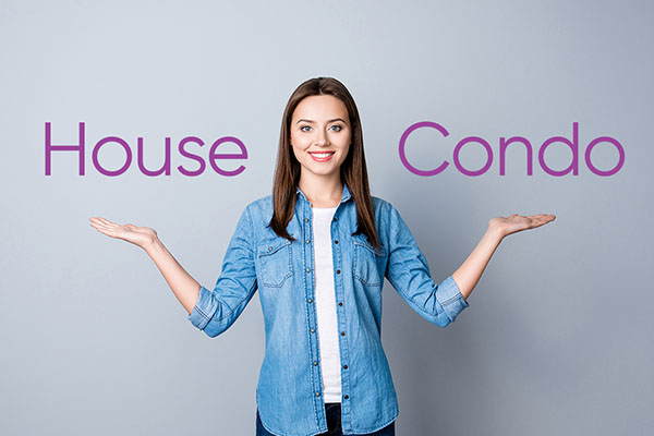 Let ACU help you decide between a house and a condo