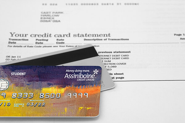 ACU How to read a credit card statement